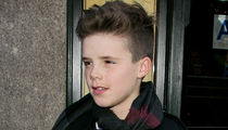 Cruz Beckham -- Jumps into Music Like Mom ... Signs With Justin Bieber's Manager