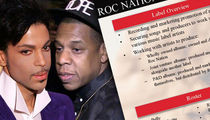 Jay Z -- Check Out My Prince Sales Pitch ... That Failed (PHOTO GALLERY)