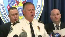 Joe McKnight Case -- Sheriff Drops N-Bomb, F-Bomb ... In Bizarre News Conference