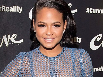 WHOA ... Christina Milian Just Went BRA-LESS In a Totally SEE-THROUGH Dress!