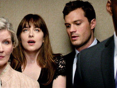 "MAJOR Kink In New ""Fifty Shades"" Trailer -- They're Having Sex Just About EVERYWHERE!"