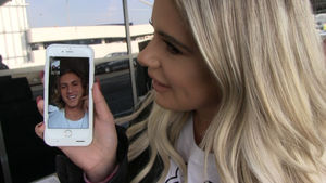 Brielle Biermann -- Facetime Interview w/ Baseball Star BF ... Moments After Blockbuster Trade