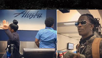 Young Thug -- Goes Off On Airline Staff ... Y'all Are Some 'Nappy' Peasants (VIDEO)