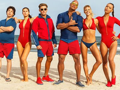 "FIRST ""Baywatch"" Trailer: Shirtless Efron & The Rock, Slow-Mo Running & RAUNCHY Humor!"