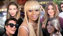 Kardashians & Blac Chyna -- Cease-fire Called in Family Name War ... For Now
