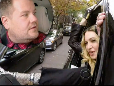 Madonna's Carpool Karaoke Is Insane: INSULTS Corden & Admits to Doing WHAT with Michael…