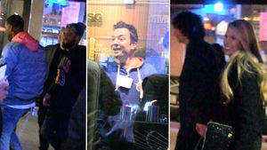NY Knicks -- Is That Howard Stern?! ... Huge Stars Watch LeBron Dominate