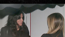 Courteney Cox, Jennifer Aniston & Lisa Kudrow -- Why So Serious? (PHOTO + VIDEO)