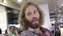 T.J. Miller -- Arrested for Uber Fight Over Trump ... 'Tis the Season??