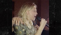 Courtney Love Sings Amy Winehouse During Karaoke (VIDEO)