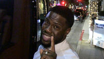 Kevin Hart Says Tom Brady's Amazing But He Ain't Joe Montana YET (VIDEO)