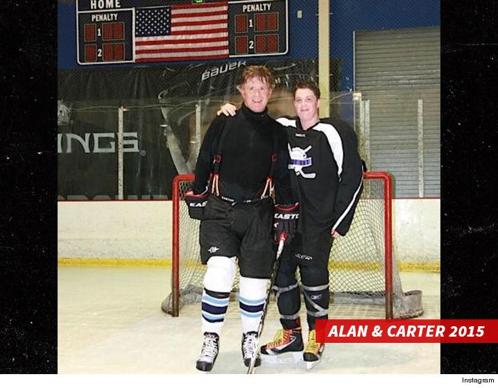 Alan Thicke Son Carter Hockey
