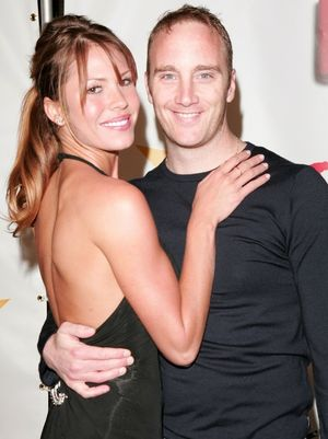 Jay Mohr and Nikki Cox -- Happier Times