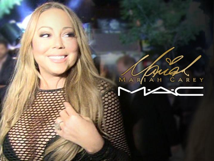 Mariah Carey llamado los tiros en la campaña de maquillaje de MAC