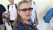 Carrie Fisher Suffers Massive Heart Attack on Plane