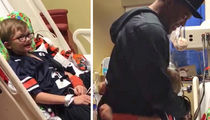 Cam Newton Charters Flight to Meet Kid In Hospital (VIDEO)
