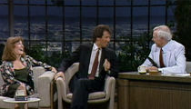 Carrie Fisher and Garry Shandling Appear Together on 'Johnny Carson' (VIDEO)