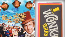 'Willy Wonka & the Chocolate Factory' Prop Candy Bar to Sell for Big Bucks (PHOTOS)