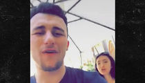 Johnny Manziel Gettin' Close with 'Wild 'n Out' Girl (VIDEO)