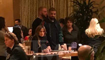 Jlo and Drake Hit Gambling Tables in Vegas (PHOTO)