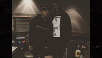Colin Kaepernick Has A New Non-Controversial Friend ... Chris Brown!! (PHOTO)