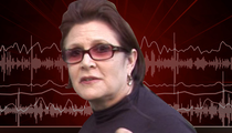Carrie Fisher 911 Call -- Pilot Speeds up for LAX Landing (AUDIO)
