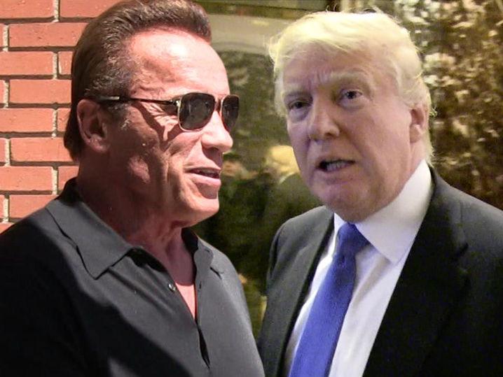 ... Schwarzenegger Tells Trumps To Focus on U.S., Not TV Ratings | TMZ.com