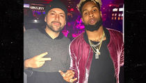 Odell Beckham Gets His Strip Club Pinky Ring Back!!!