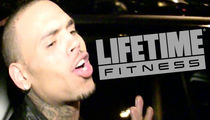 Chris Brown Banned For Life From Life Time Fitness