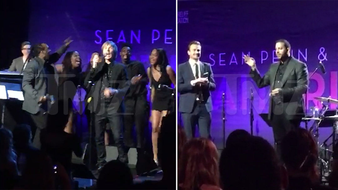 Sean Penn Draws Big Stars for Haiti During Golden Globes Weekend
