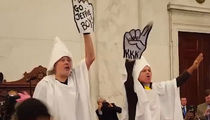 'KKK' Members Mock Jeff Sessions at Senate Hearing (VIDEO)