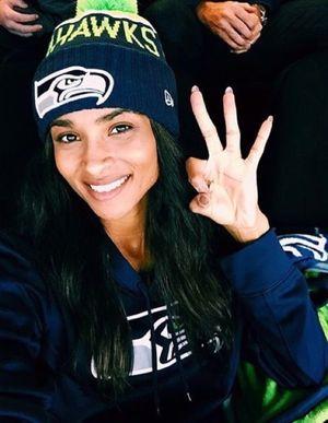 Ciara's Seahawks Fanatic Photos