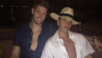 Jay Cutler Lets the Chest Hair Out In Mexico (PHOTOS)