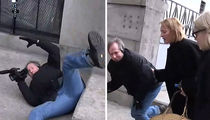 Uma Thurman to the Rescue of Fallen Photographer (VIDEO)