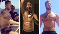 12 Shirtless Shots of Bday Babe Calvin Harris ... EDMmmmm