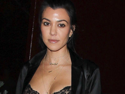 Wait, Kourt Met Up with Bieber Wearing WHAT?! Check Out See-Through Top!