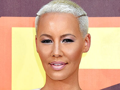 Amber Rose Just Ditched ALL the Makeup -- And Wait'll You See INCREDIBLE Bare Face!