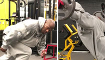 Steelers' James Harrison Back In Gym at 5 AM ... NO DAYS OFF (VIDEO)