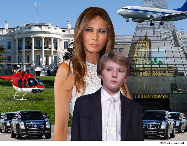 0117-melania-barron-trump-commute-tmz-getty