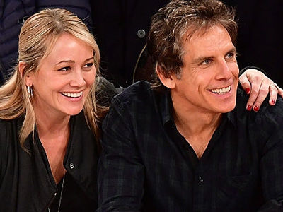 Wait'll You See Ben Stiller & Christine Taylor's ADORABLE Son -- Rare Sighting w/ Dad!