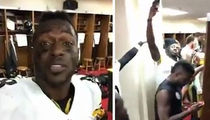 Antonio Brown Apologizes for Locker Room Video ... 'Wrong of Me'