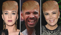 Stars With Donald's Signature 'Do ... Comb Through the Funny Follicle Photos