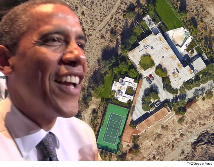 Obamas vacationing in Palm Springs
