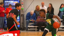 LeBron James Jr. DOMINATES at 12-Years-Old (Video)