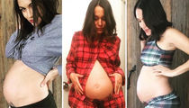 18 Pregnant Pics of Brie Bella To Get Your Weekend Poppin'