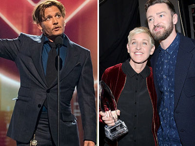 5 MUST-SEE Moments from the People's Choice Awards -- And Winner's List!