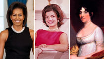 The First Ladies of the United States ... See the Women of the White House