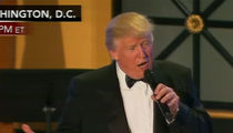 Donald Trump Shouts Out Tom Brady at Inauguration Dinner (Video)