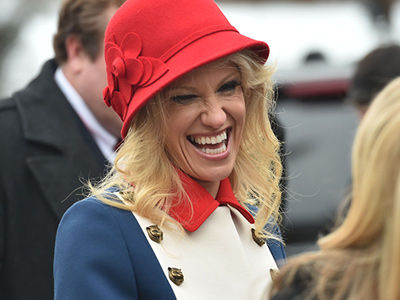 The Internet WENT IN on Kellyanne Conway's Outfit -- See More HILARIOUS Reactions & Memes!