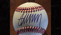 Donald Trump Baseball Autograph Prices Skyrocket (Photos)